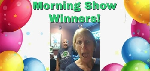 WOOF Morning Show Winners
