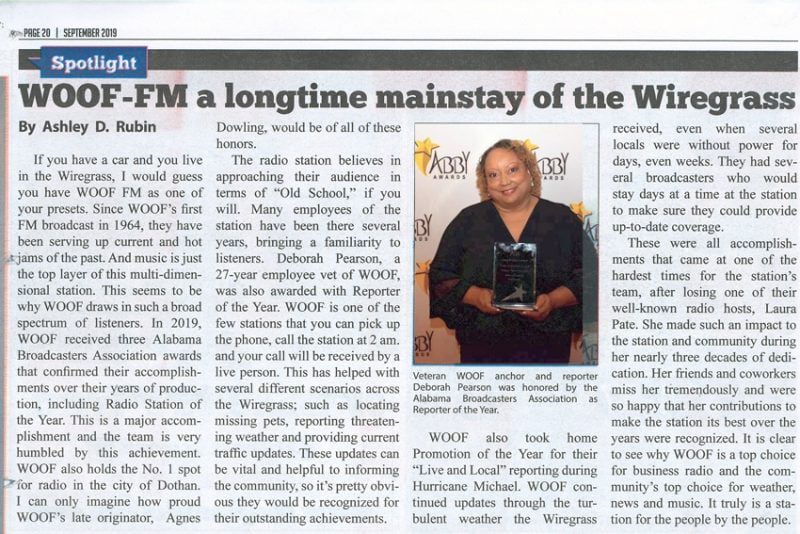 99 7 WOOF FM – Continuous Soft Rock & Winning!